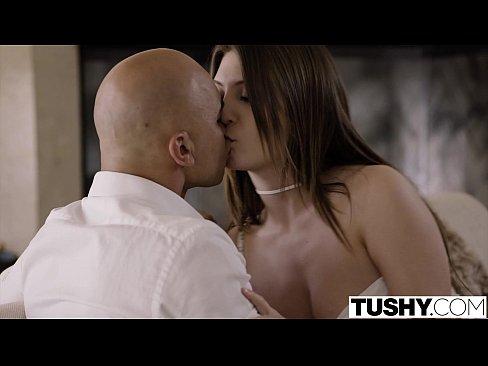 TUSHY First Anal For Brunette Jojo Kiss