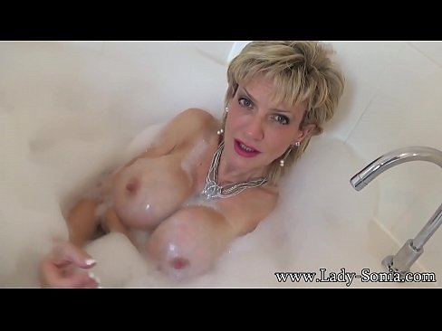 Sonia wants you to cum on her tits while she takes a bath 8 min HD+