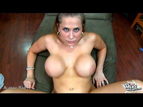 5 min Busty Alanah Rae suck cock in POV brazzers.com