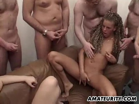 Done! Sexy facial gangbang video free