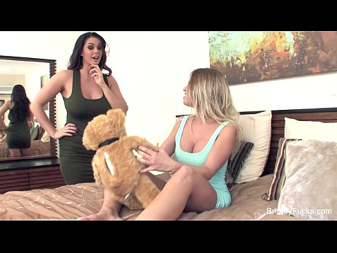 Alison and britney amber play with each other 7