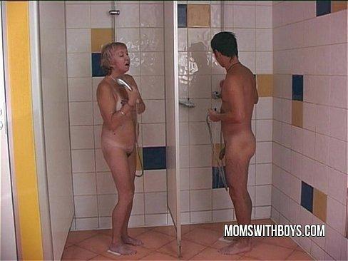 Young slut in shower porn