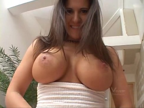Hot brunette with big tits www.my-sexy-girls.com - XVIDEOS.COM