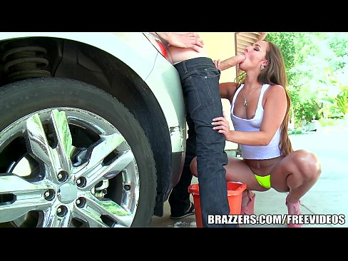 7 min Brazzers Hot anal carwash with Amirah Adara hot girl