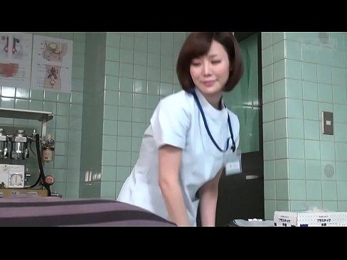 【無料エロ動画】超カワイイ女医さんにバギナ内ぶっかけできない障害を治...