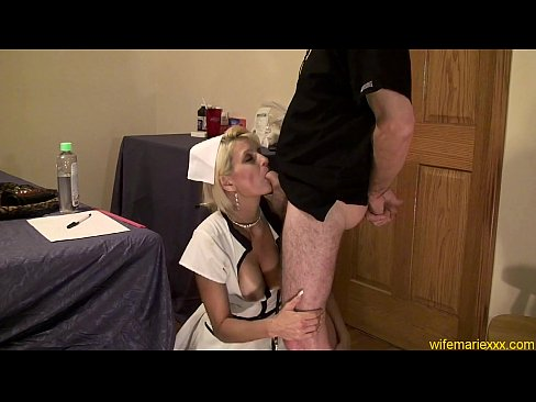 Nurse Gape mature anal whore nurse cosplay 4 min HD