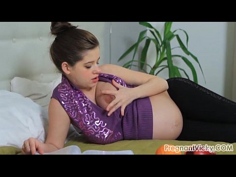 Pregnant Vicky from PregnantVicky.com #7