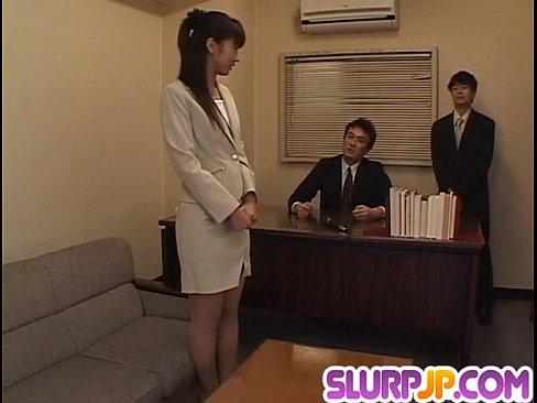 Misato kuninaka gets tasty dick to choke her well 8