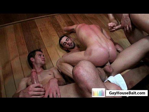 gay twinks in sauna