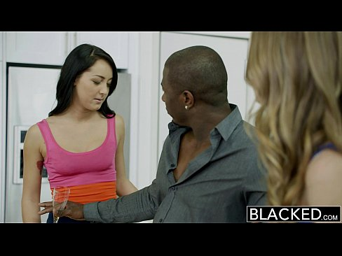 Jillian Janson And Sabrina Banks Share A Huge Black Cock BLACKED.com Randy Girls 11 Min
