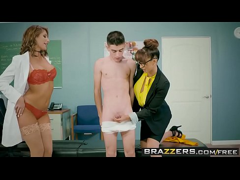 Brazzers – Big Tits at School –  A Tip To The School Nurse scene starring August Ames
