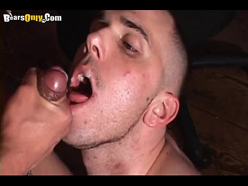 Nice Gay Cumeating 04 bearsonly 4 part6