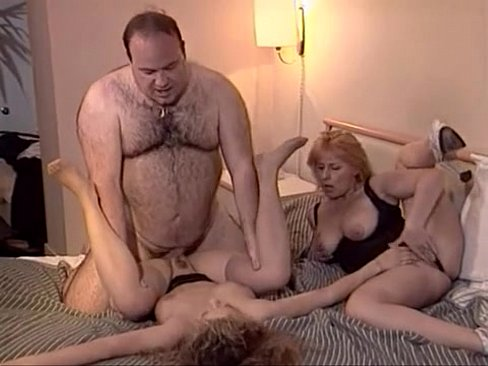 fat guy fucks blonde