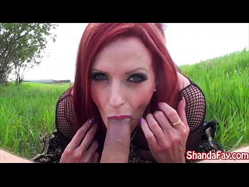 Canadian MILF Shanda Fay Finds A Pretty Place To Fuck!! 11 min HD