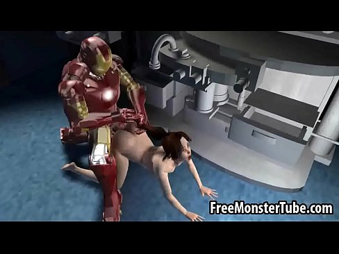 Foxy 3D brunette getting fucked hard by Iron Manan2 high 2  [Hentai Anime 3D Porn HentaiPornTube.net]