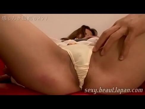 Японская миниатюрная чувствительная мамаша, облаченная прелюдии