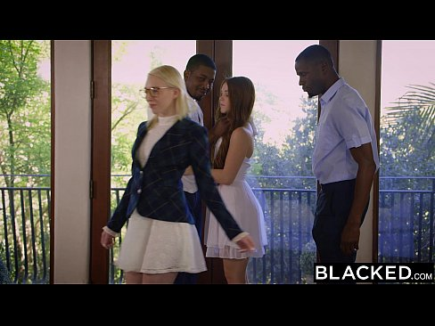 12 Min Redhead Kimberly Brix First Interracial Threesome On BLACKED
