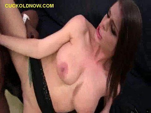 Cuckold Eats Black Cum
