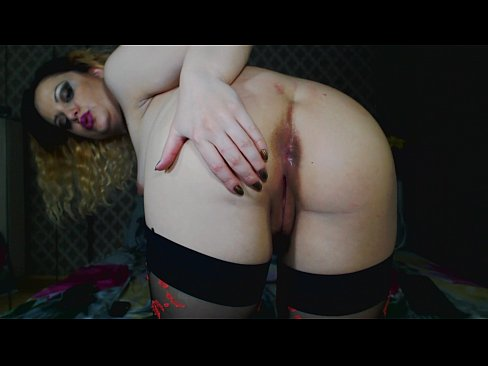 after orgasm very close up with my wet tight holes-sit on camera-like is you