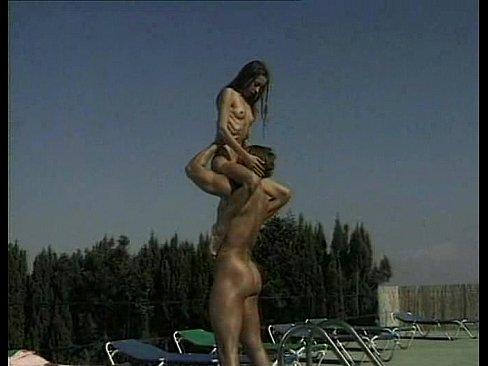 Skinny girl standing fuck