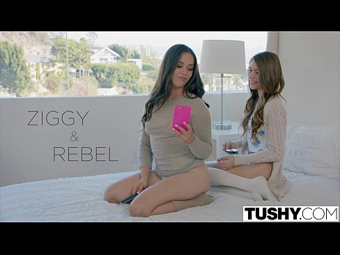 TUSHY Two Pretty Teens Seduce One of Their Sisters Boyfriend