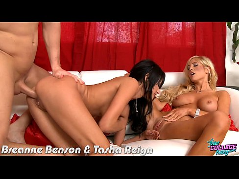 9 min College cuties Breanne Benson and Tasha Reign fucking hot girl
