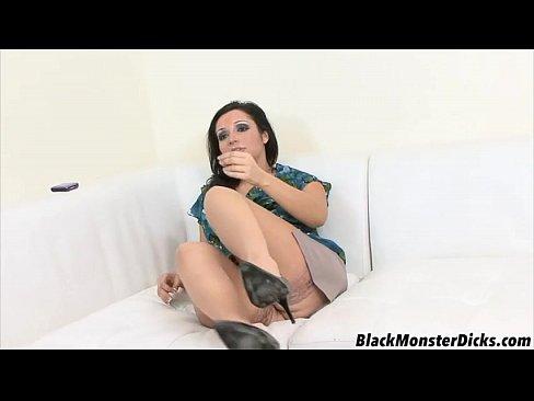 Chubby MILF Gets a Black Cock