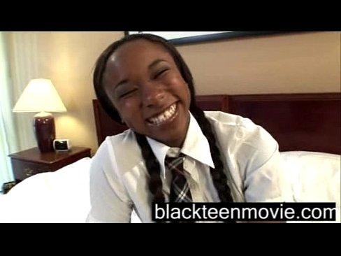 Colegial Negra Fodendo Com Amigo