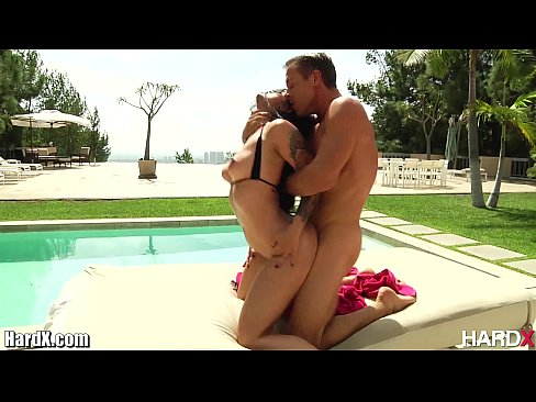 10 min Katrina Jade Pounded By The Pool hardcore porn