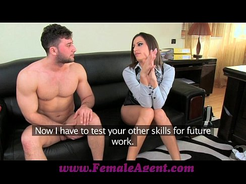 Femaleagent massive cumshot from seasoned veteran