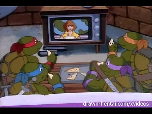 TMNT Hentai - April interviews Rat King