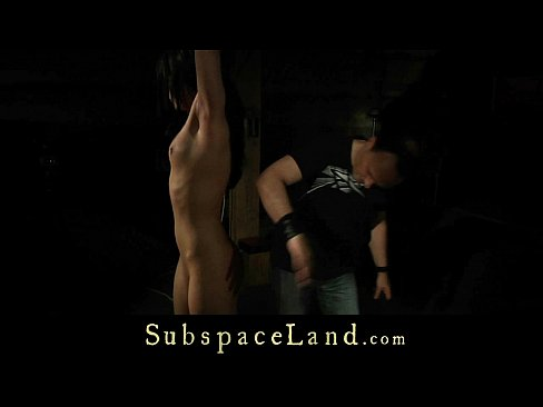 Discipline red marks and tears of pain for a mind fucked slave