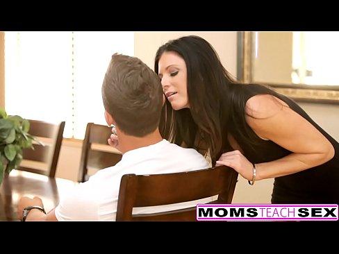 MomsTeachSex - Horny Step Mom Fucks Son
