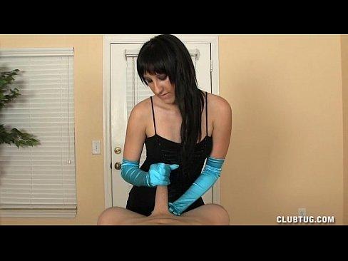 glove+handjob