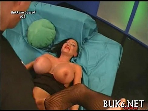 Wild and salacious blow group-sex
