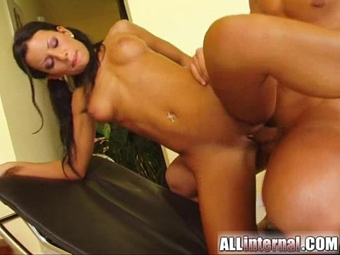All internal black puma gets a giant load shot into her cunt 4