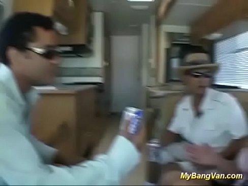 stepmoms first anal bang van gangbang