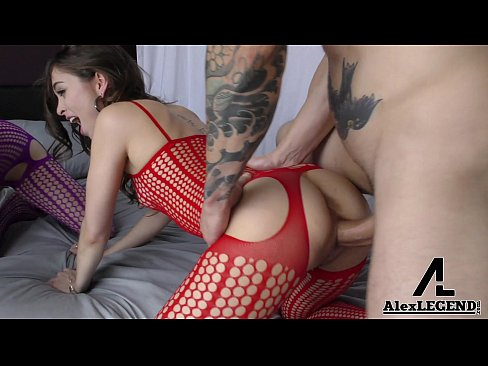 Hottest Big Dick 3Some!! Alex Legend Fucks Riley Reid & Penny Pax