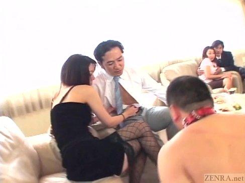 【羨ましい強烈セックス美女】性に飽き足らない人妻達がとんでもない酒池肉...