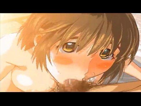 3Dエロアニメ☆★ぽっちゃり巨乳JKが隣のお兄さんに告ってフェラハメ★...