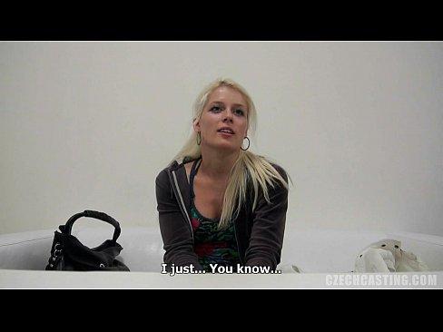 Зрелая Чешская дама на порно кастинге