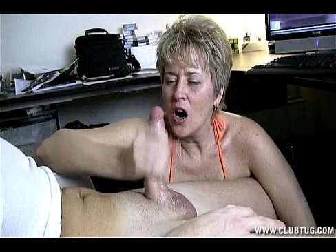 Leave tracy tug handjob video