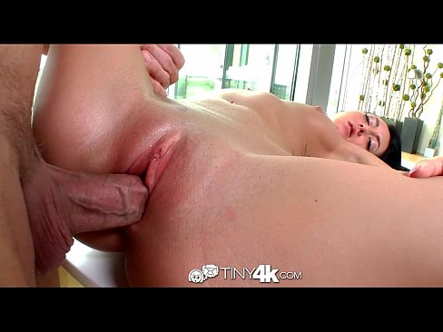 8 minute Petite Sabrina Banks rides cock before swallowing his dick fuck movie