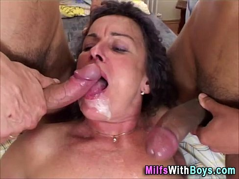 10 min Mature dp threesome fuck Ass.com