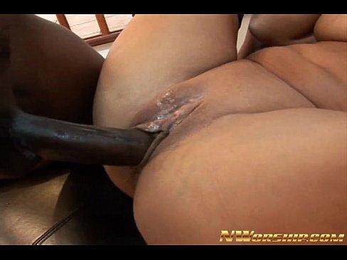 busty milf shared by 2 big cocks interracial an...