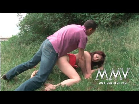 12 Min MMV Films Cute Teen Fucked Outdoor Film