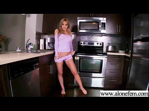 Всеми видами питания в качестве секс-игрушки для горячего Соло девушки фильм-28