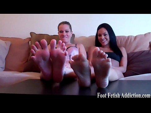 Worship redhead Kendra's feet in high heels