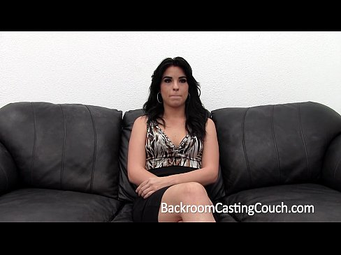 Amateur Brunette First Anal Trying On BackroomCastingCouch.com