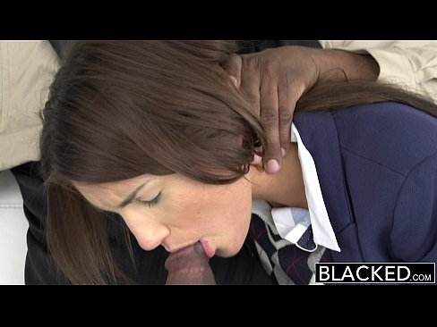 10 min BLACKED Real Model with Perfect Tits Loves Black Cock Huge Dicks